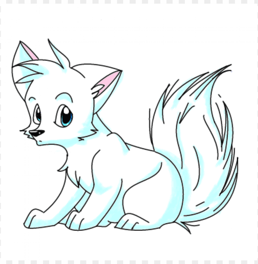 Download arctic fox by mkitty p clipart png photo.