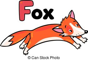 Jumping fox Clipart Vector Graphics. 280 Jumping fox EPS.