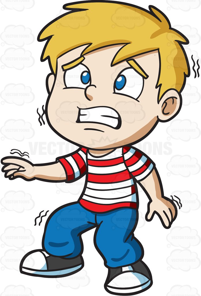 Collection of free Frightened clipart blonde hair boy.