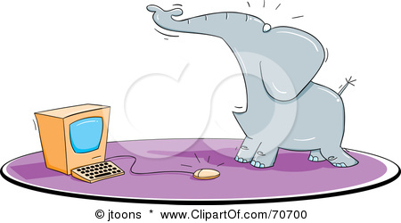 Rhys Report: Dont be afraid Elephant, that mouse cant hurt you..