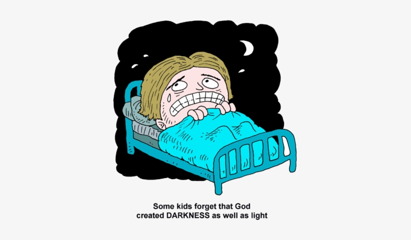 Fear Of Darkness Clipart.