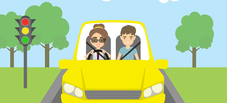 Instructor advice on calming your driving nerves.