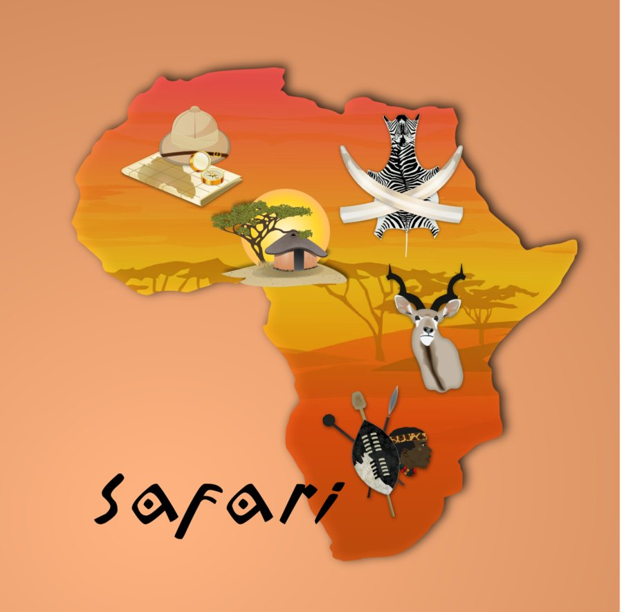 Africa adventure clipart clipart images gallery for free.