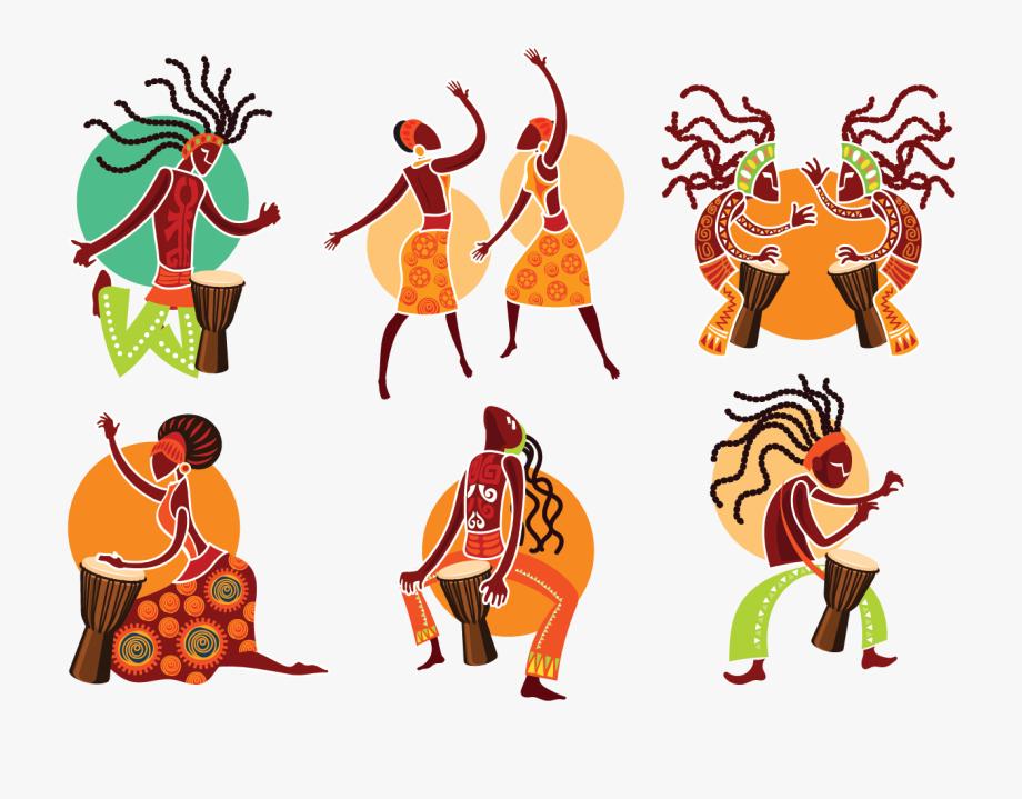 Music Of Africa Clip Art.