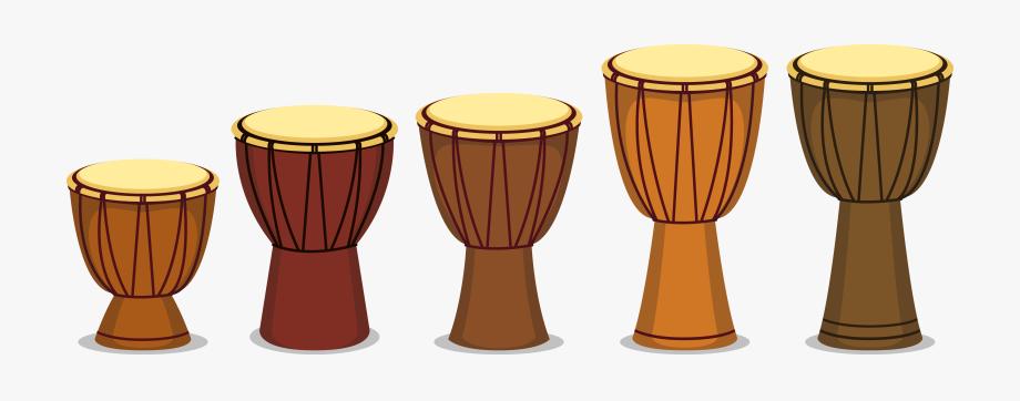 Africa Clipart Drum African.