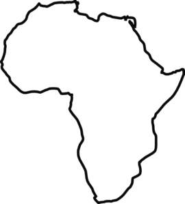 Free Africa Cliparts White, Download Free Clip Art, Free.