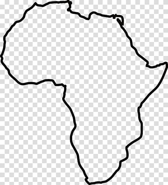 Africa Europe Drawing , Africa White transparent background.