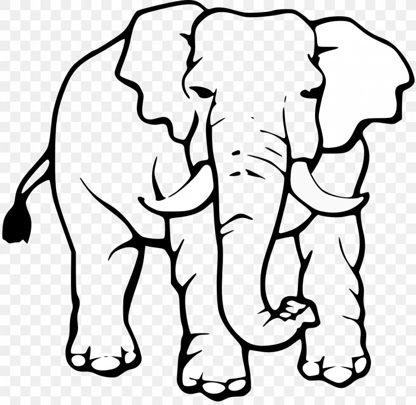 Asian Elephant Black And White White Elephant Clip Art, PNG.