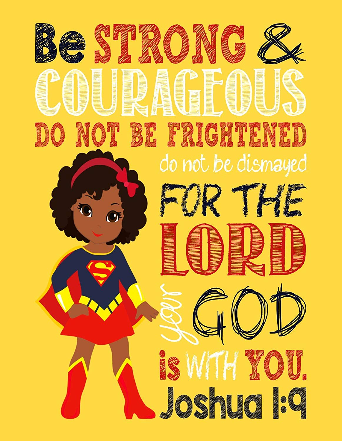 Amazon.com: African American Supergirl Christian Superhero.