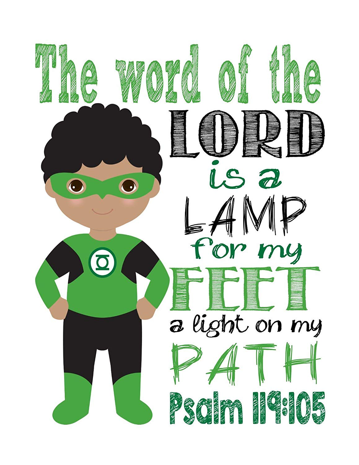 Amazon.com: African American Green Lantern Christian.
