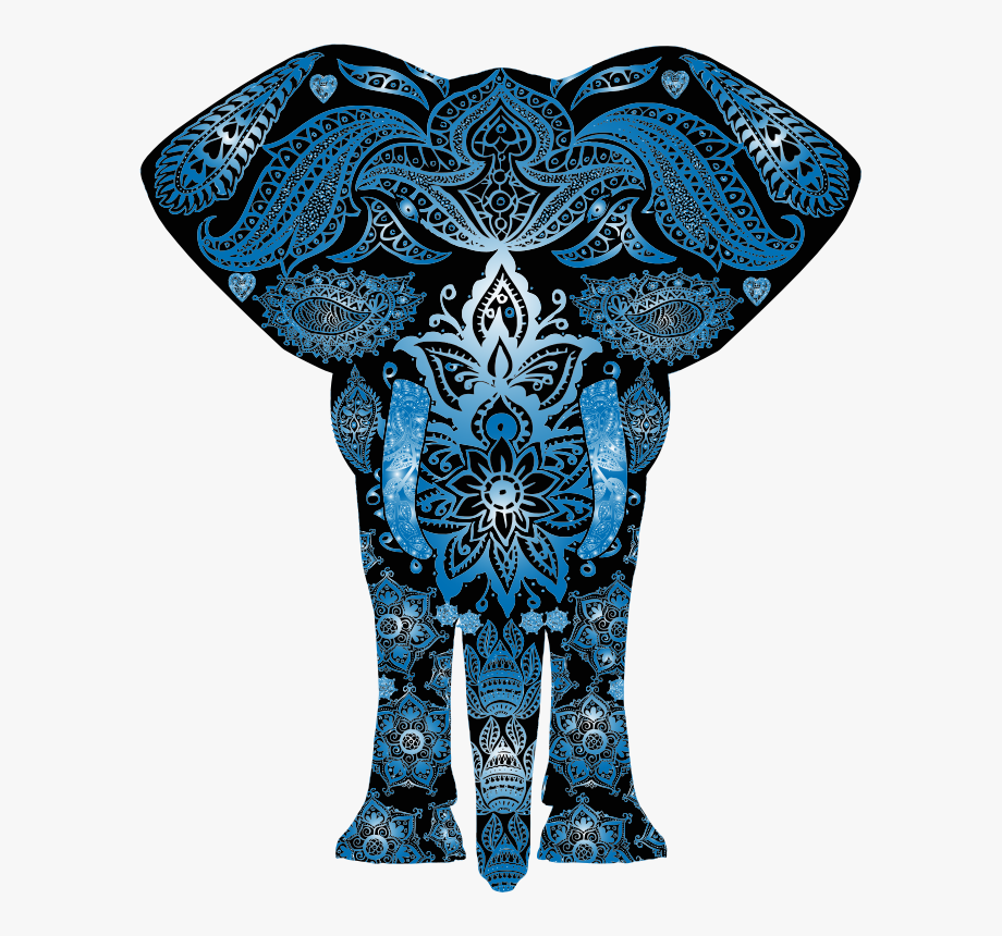 Colorful Elephant Clipart , Png Download.