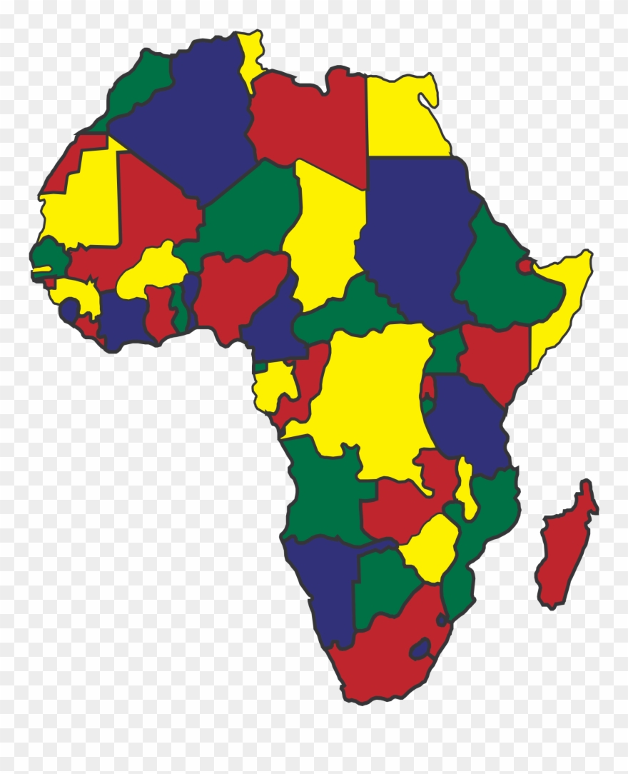 Image Royalty Free Africa Map Clipart.