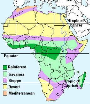 Africa map clipart biomes clipart images gallery for free.