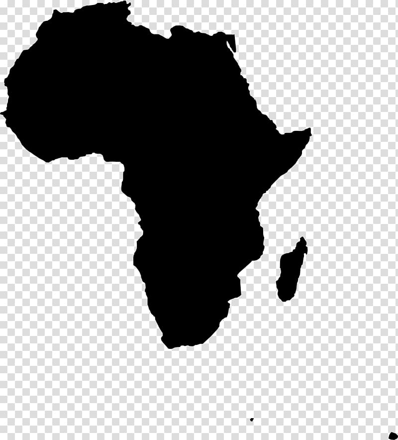 Africa Map , Africa transparent background PNG clipart.