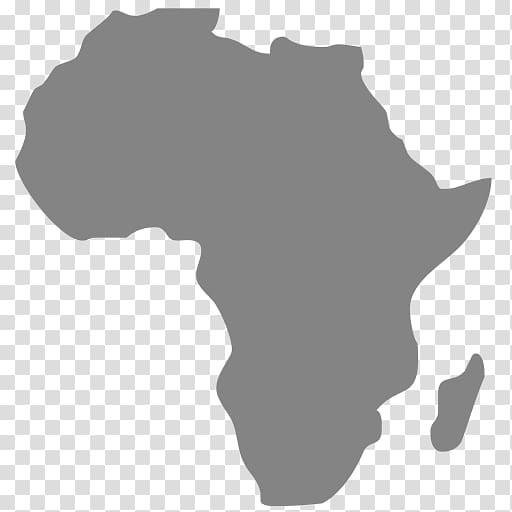 Africa Map Continent, Africa transparent background PNG.