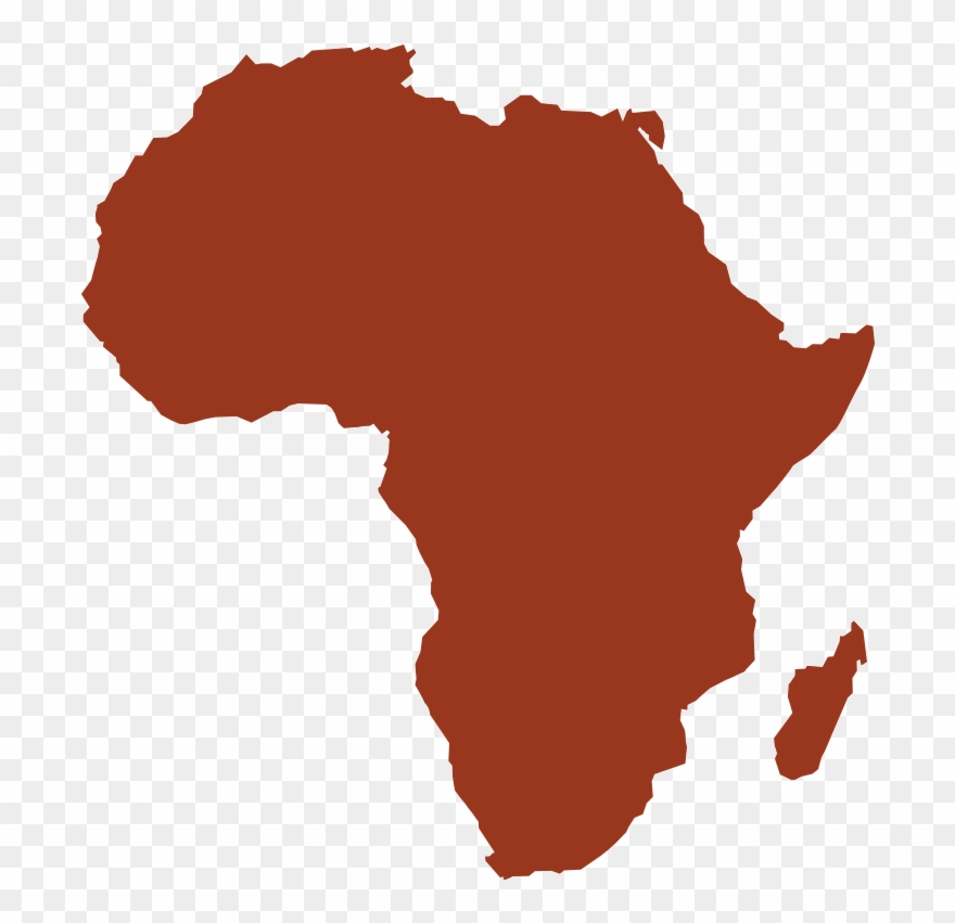 An Illustration Of The Continent Of Africa.