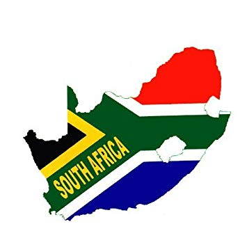 Temporary Body Face Country Flag Map Tattoo Stickers Water Transfer Party  Tattoos (South Africa).