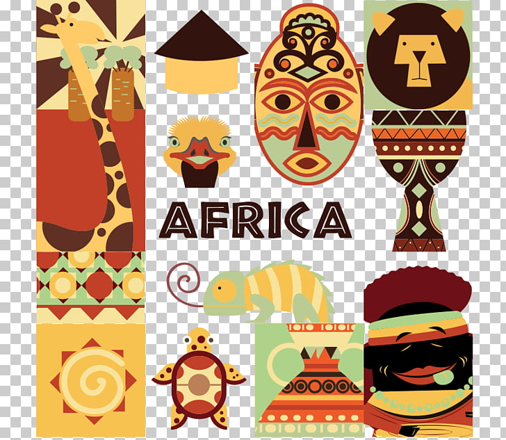 Africa Icon, Africa material PNG clipart.