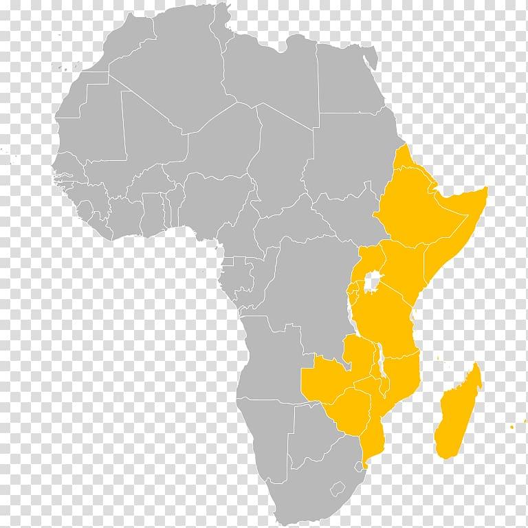 Flag of Kenya Blank map, East Africa transparent background.
