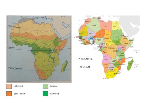 42 Scientific Biomes Of Africa.