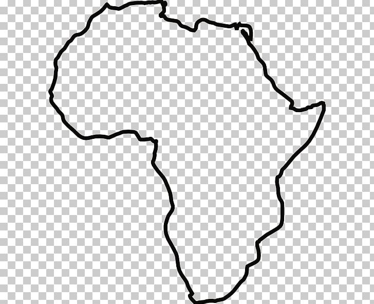 Africa Blank Map Drawing PNG, Clipart, Africa, Area, Black.