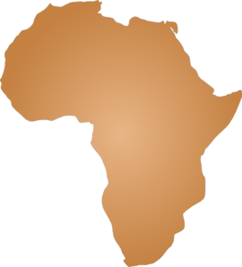 Africa Outline Clip Art at Clker.com.