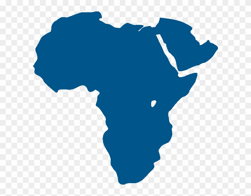 Outline Of Africa Map Clipart.