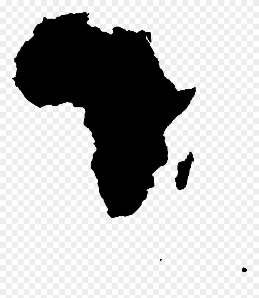 Map Of Africa Clipart.