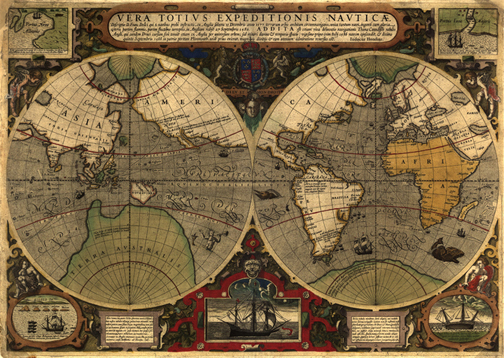 Royalty Free Antique, Historical, Vintage Clip Art Maps.