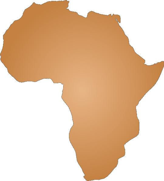 Africa Outline Clip Art at Clker.com.