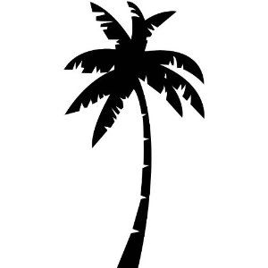 Palm Tree Silhouette Clip Art at GetDrawings.com.