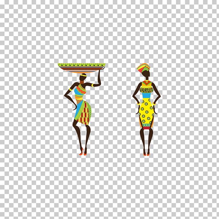 Africa Poster Printmaking Watercolor painting Tribal art.