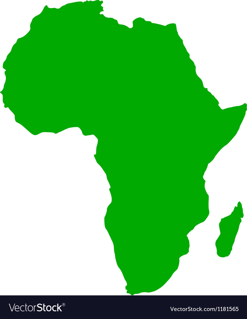 Map of Africa.