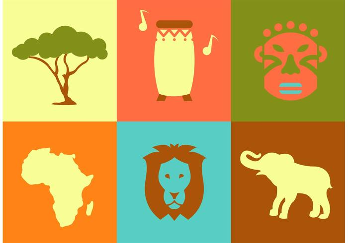 Africa Vector Icons.