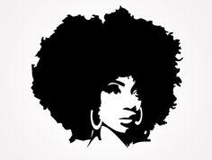 Afro clipart kinky hair, Afro kinky hair Transparent FREE.
