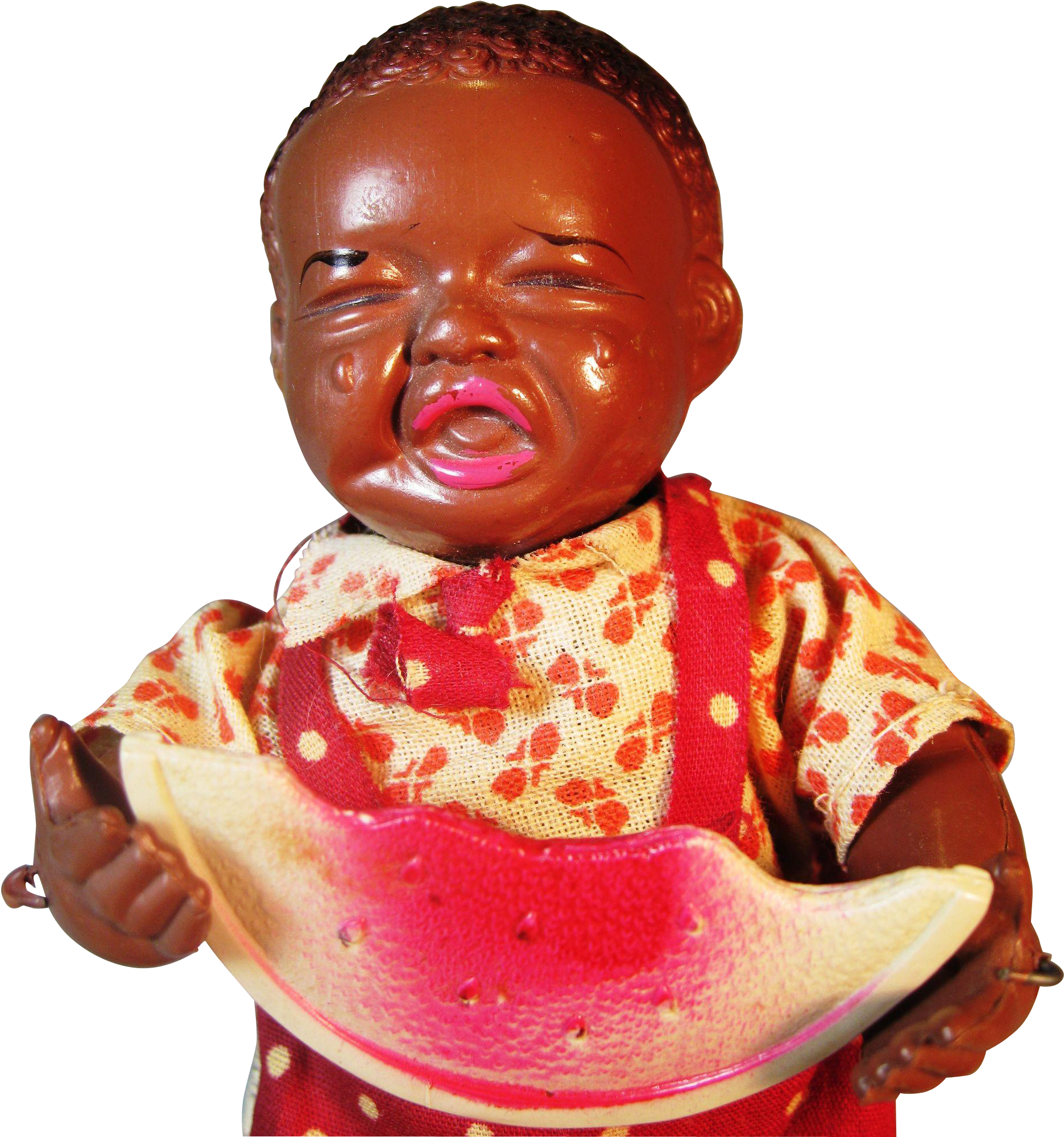 African American Newborn Baby Girl.