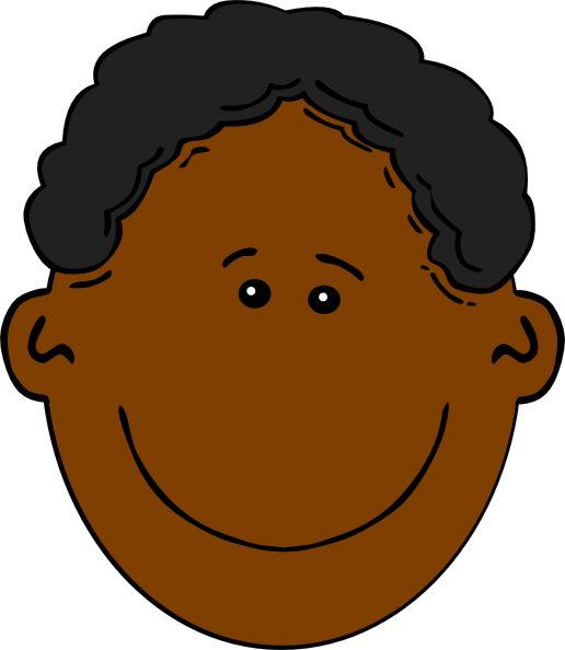 African American Boy Clip Art at Clker.com.