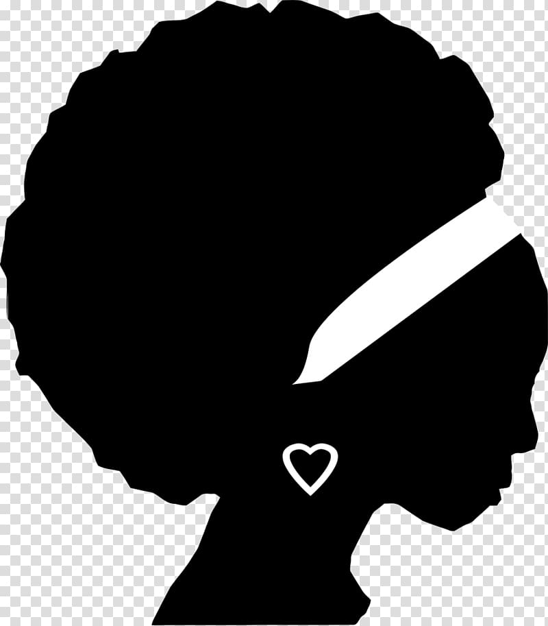 Woman illustration, African American Female Silhouette.