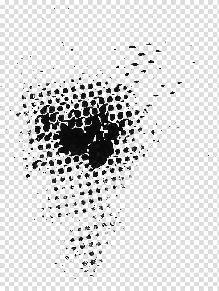 Black abstract art transparent background PNG clipart.