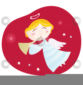 African American Angel Clipart.