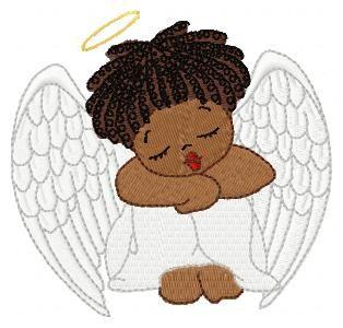Black Baby Angel.