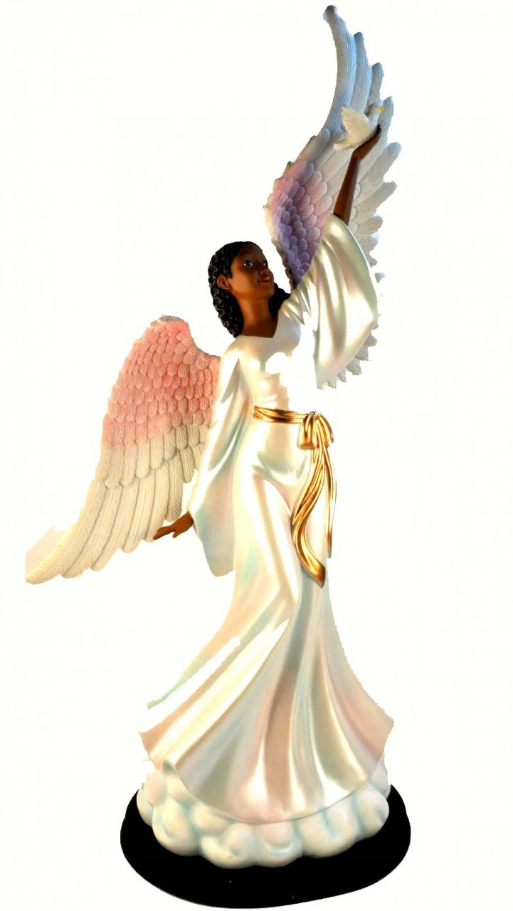 Images For African American Angel Clipart.