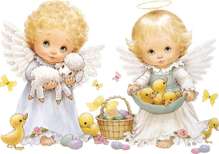 1762 Angels free clipart.
