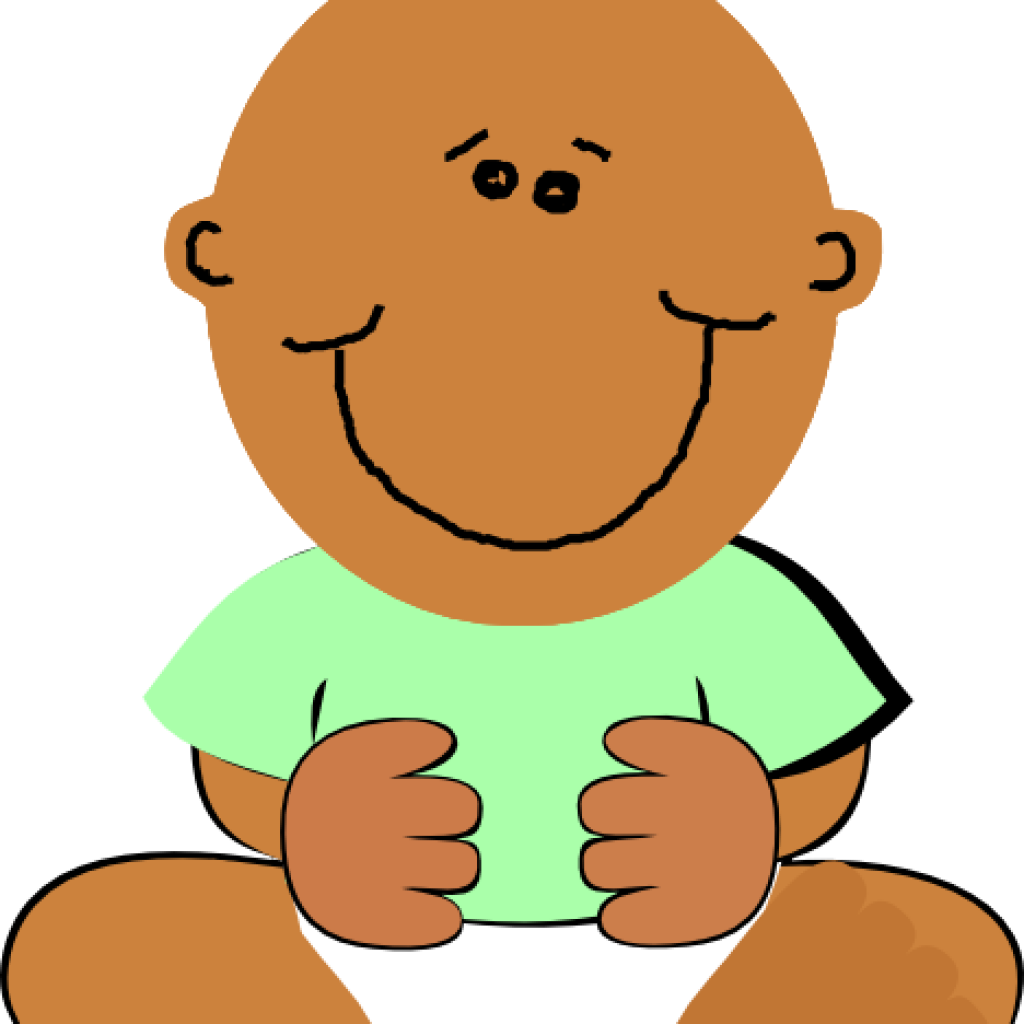 Black Baby Clipart Png.