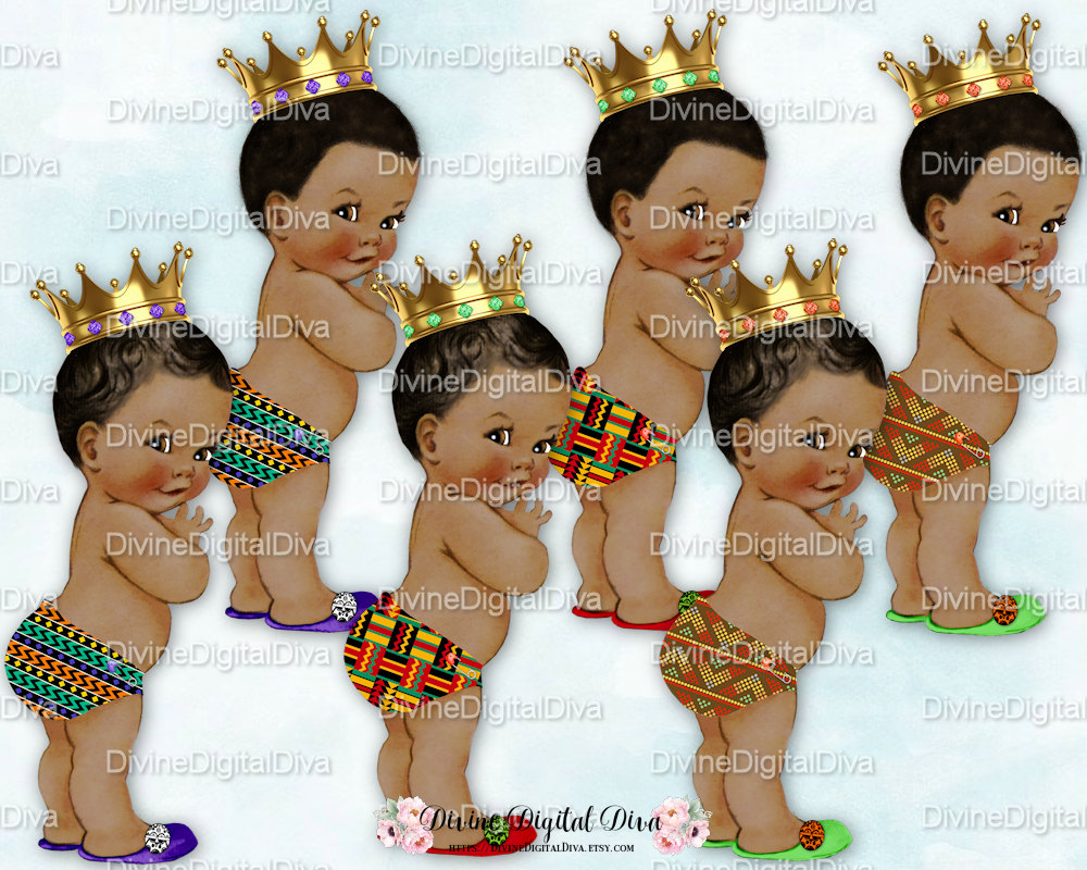 African Prince Clipart.