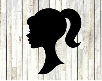african american barbie clipart #8