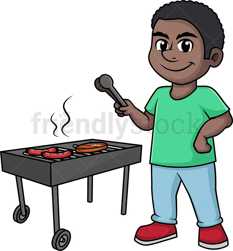 African american barbque cookout clipart clipart images.