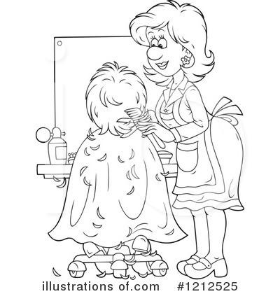 Hair Stylist Clipart #1212525.