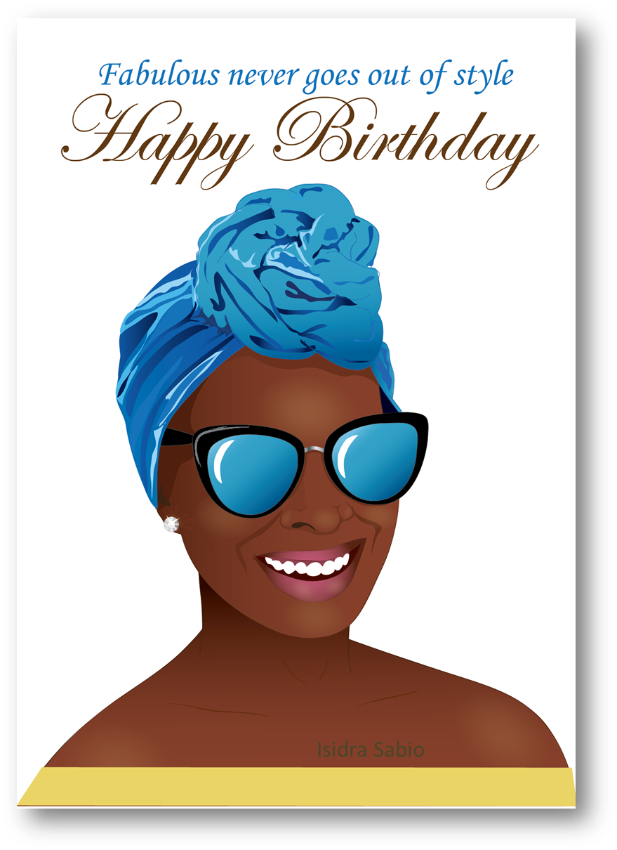 Happy Birthday African American Clipart Greeting &.