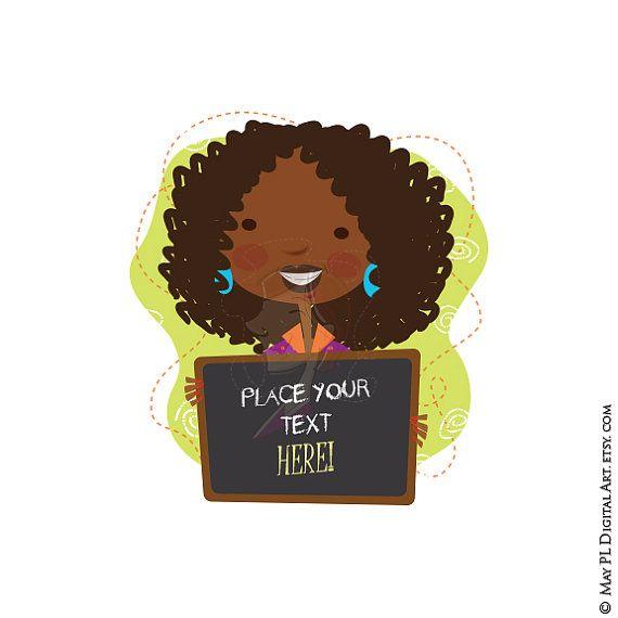 Classroom Teacher Clip Art African American Black Teacher.